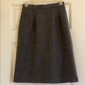 Beautiful gray pencil skirt